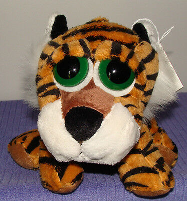 Russ Peepers Tuffley Jungle Tiger With Baby Squeaker In Pouch New With Tags ~Dm