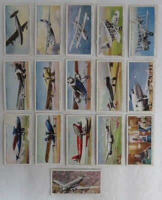Players Cigarette International Air Liners - Incomplete Set    (Inv3078)