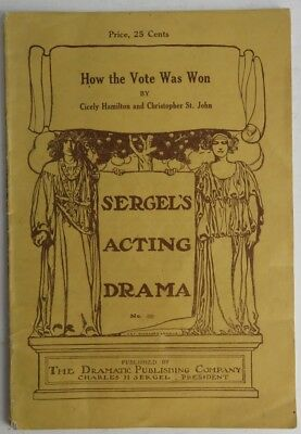 How The Vote Was Won -  Sergel's Acting Drama  (Inv1259)