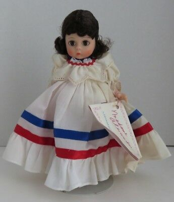 "1987 Madame Alexander 7"" Dominican Republic Doll               (Inv11195)"