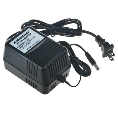 HQRP AC Adapter for Casiotone MT100 MT205 MT210 MT240 Charger Power Supply Cord