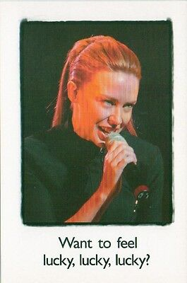 KYLIE MINOGUE Paralympic Games Australia 2000  Promotional Postcard 6x4 inches