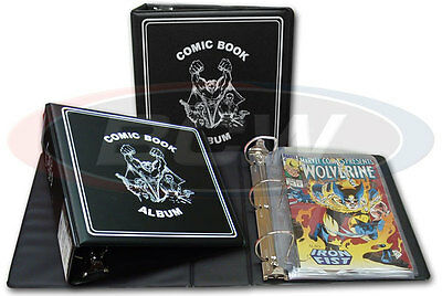 Comic Book Album For Storage & Display with 20 Pages