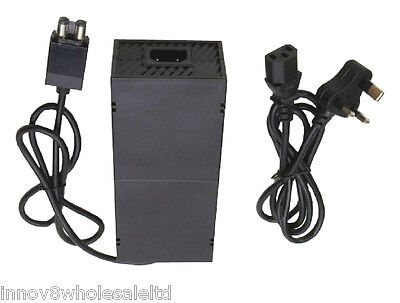 Replacement AC Adapter Power Supply Cord Cable for Microsoft XBOX ONE Console-UK