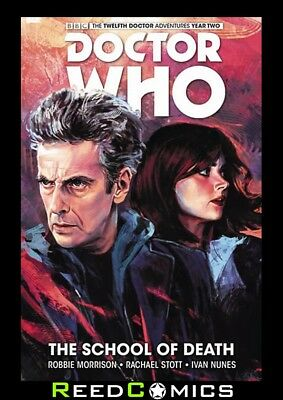 DOCTOR WHO 12th DOCTOR VOLUME 4 SCHOOL OF DEATH HARDCOVER Collects YEAR TWO #1-5