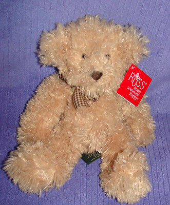 "Russ Briarton Bear Retired  12"" Tall 39613 New With Tags ~ Do"