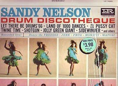 Sandy Nelson . Drum Discotheque . 1965 Imperial LP
