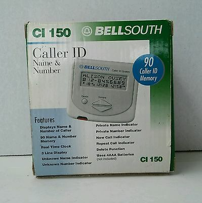 Bell South Caller ID Name & Number (CI 50)