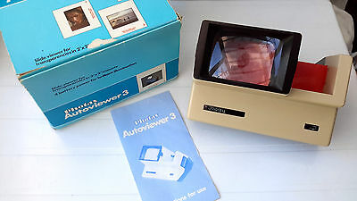 Photax AutoViewer 3 Slide Viewer (Boxed, Instructions)