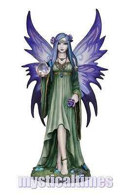 New * Mystic Aura * Fairy Anne Stokes Figurine Statue Ornament With Free Post