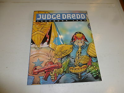 JUDGE DREDD Yearbook 1993 - Year  1993 - UK Fleetway Annual Book