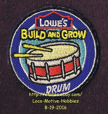 LMH PATCH Badge  2009 SNARE DRUM Side Field March Band LOWES Build Grow Clinic