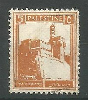 PALESTINE 1927 SG93 5m Orange Good Used