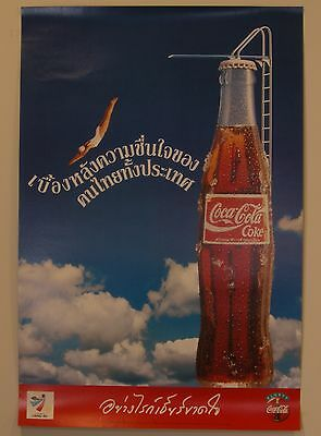 Collection of 11 Coca-Cola Posters From Thailand - 1980's-2000's