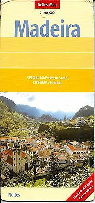 Map of Madeira, Portugal by Nelles Map