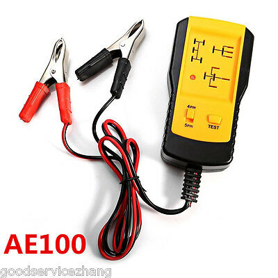 Specialties Electronic Automotive Relay Tester for 12V Cars Auto Battery checker