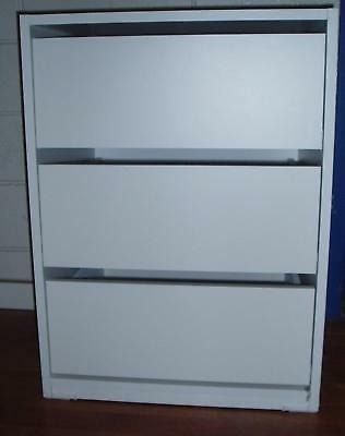 NEW Wardrobe  Built in Cabinet Storage Organiser  Insert 3Drawers TallBoy H69cm