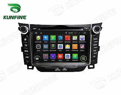 Android 5.1 Quad Core Car stereo DVD Player Gps Navigation Hyundai I30 2011-14