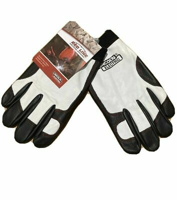 Lincoln Electric K2977-2XL/XL/L/M/S  Full Leather Steel Worker Gloves