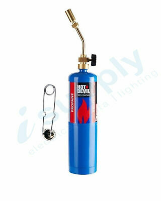 Hot Devil PROPANE TORCH KIT WITH Manual Ignition HDPTK