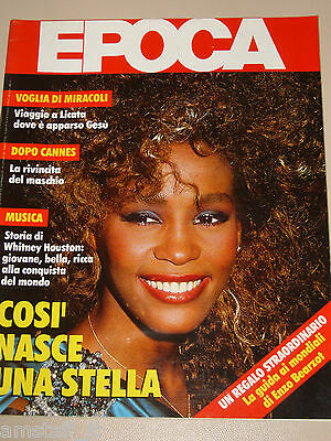 Epoca=1986/1861=Whitney Houston Cover Magazine=Licata Visioni=John Le Carre'=