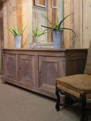 18th century French Directoire buffet in walnut