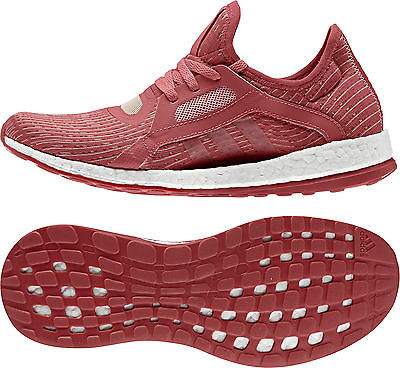 Adidas Pure Boost X Ladies Running Shoes - Red