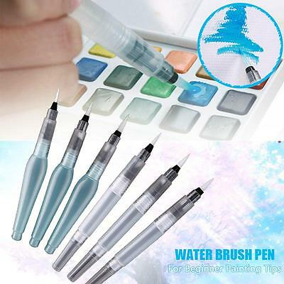 Cute Water Brush Pen Ink Water Color Calligraphy for Beginner Painting Tips