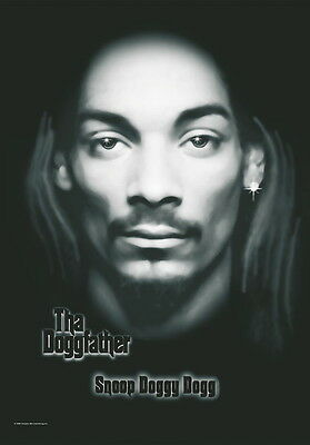 "Snoop Doggy Dogg Flagge / Fahne ""tha Doggfather"" Poster"