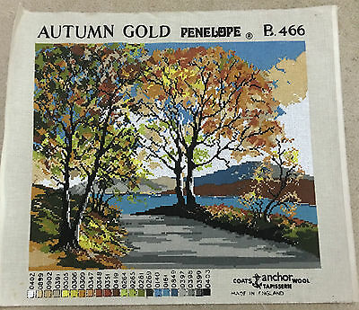 Vintage Tapestry Canvas - Penelope - AUTUMN GOLD