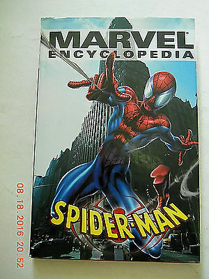MARVEL ENCYCLOPEDIA SPIDER-MAN Softcover Direct Edition Good