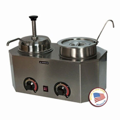 Nacho Cheese Dispenser Warmer Paragon 2029E Hot Fudge Caramel Soup Chili Sauce