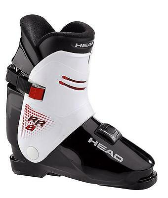Ski Boots Head RR 8, (Black & Silver) Rear Entry Size 30, easiest in and out