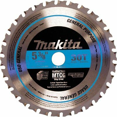 New Makita A-95037 TCT Saw Blade 5-3/8-inch by 5/8-inch by 30T Brand New