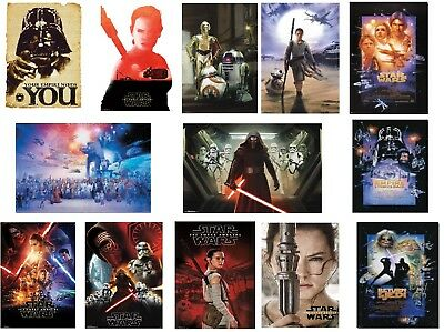 Star Wars Poster 24x36 Force Awakens Kylo Ren Capatain R2-D2 Movie New