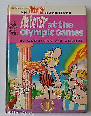 ASTERIX at the OLYMPIC GAMES BD Uderzo/Goscinny English Comic Book 1974