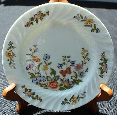 "VTG AYNSLEY Bone China England COTTAGE GARDEN 6 3/8"" Bread & Butter Plate"