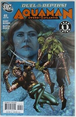 2006 Aquaman Sword Of Atlantis #41   -  Nm                          (Inv11505)