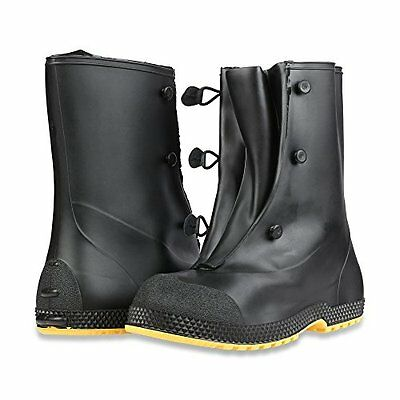 "Servus 11001 SF Super-Fit Black 12"" PVC Overboots Size S-XL *Free US Shipping*"