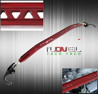 2000-2005 Dodge Neon Se Es Sxt Suspension Front Upper Strut Wide Bar Brace Red