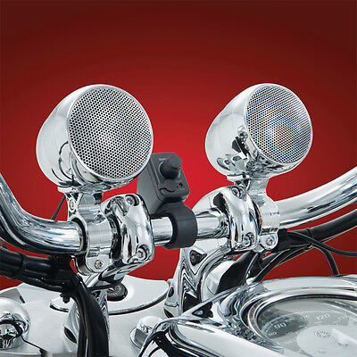Big Bike Parts Bluetooth Sound System (Chrome)