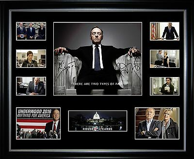 House Of Cards Limited Edition Framed Memorabilia