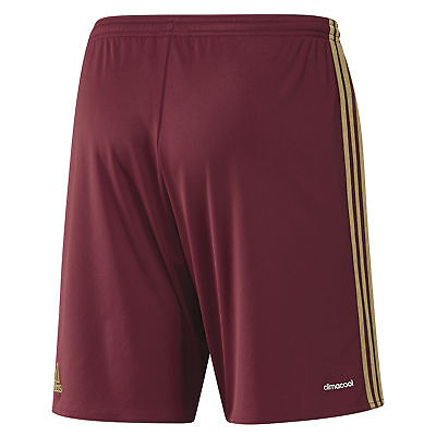 adidas Childrens Kids Football Soccer Russia Home Shorts Bottoms Pants 2016
