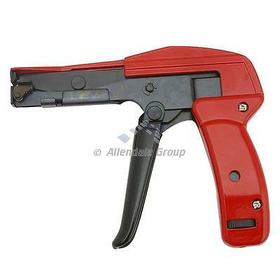 Steel, Heavy Duty Cable Tie Wrap Gun - For Nylon Ties 2.2 to 4.8mm / 1.6mm Thick