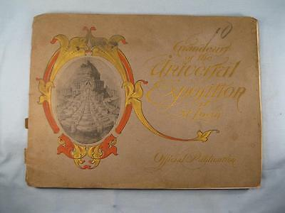 Grandeur Of The Universal Exposition At St Louis 1904 Book Antique (O) AS IS