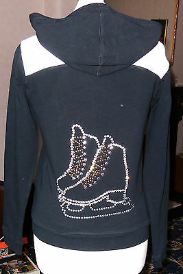 New Ice Skating Dress Jackets with Crystal Motif - Ladies Sizes 8-10 & 10-12