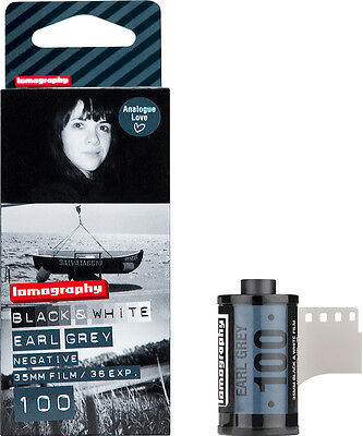 Lomography 3 pellicules 35mm Noir & Blanc Earl Grey 36 poses 100 ISO