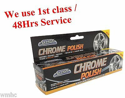 Chrome Polish Cleaner Restores Polishes & Protects Ideal For Car & Others 70ml