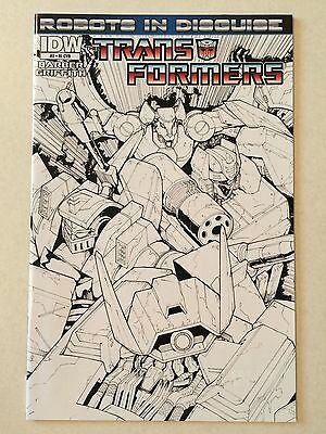 Transformers Robots in Disguise #2 NM 9.4 incentive cover RI