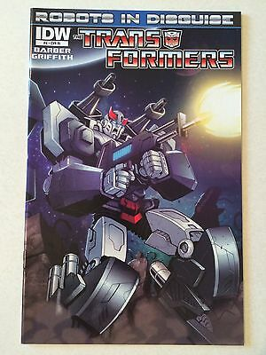 Transformers Robots in Disguise #4 NM 9.4 incentive cover RI